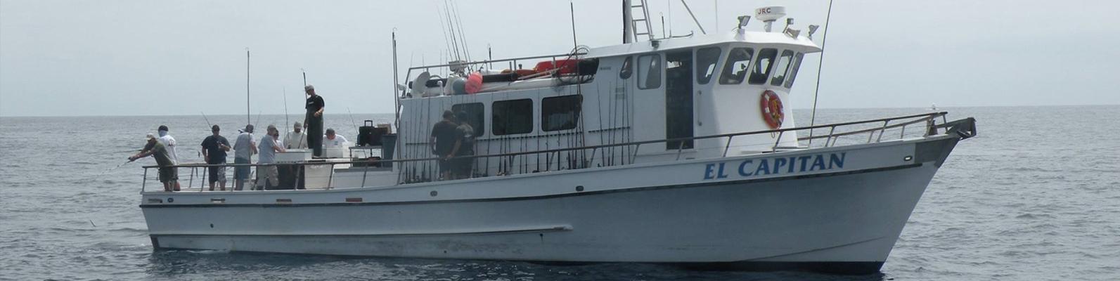 El Capitan Sportfishing Boat in San Diego